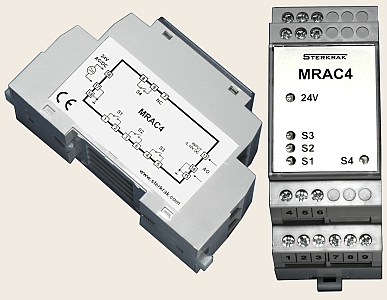 Analog To Digital Extension Device MRAC4, MRAC4T