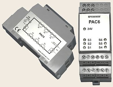 6-bit Analog To Digital Converter PAC6, PAC6T